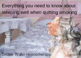 quit smoking and sleep well
