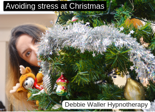 cope better with christmas stress